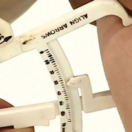 چربی سنج تن زیب Fat measurement caliper